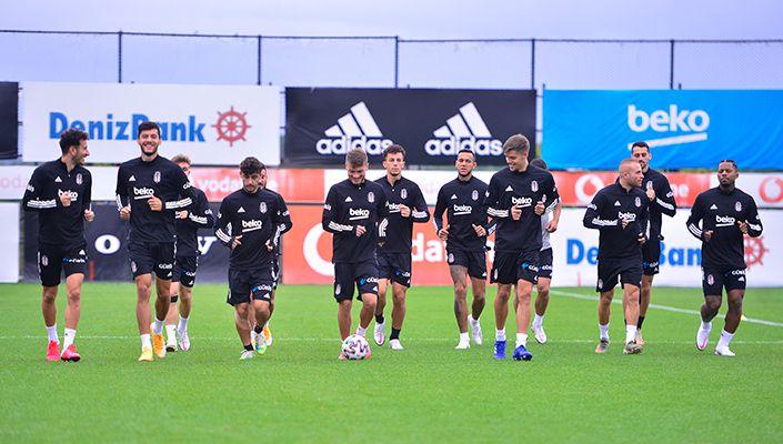 Beşiktaş, Gençlerbirliği maçı hazırlıklarına başlıyor